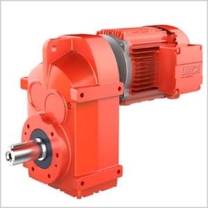 Плоско-цилиндрический мотор-редуктор