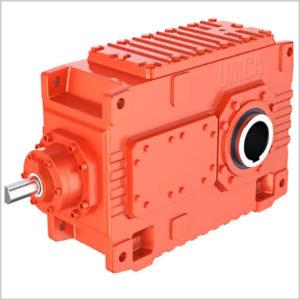 Индустриальный редуктор с коническо-цилиндрической передачей